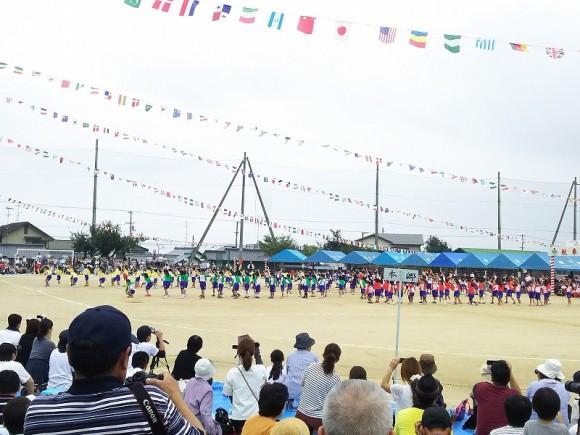 中萩小学校運動会