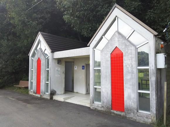 滝宮公園トイレ